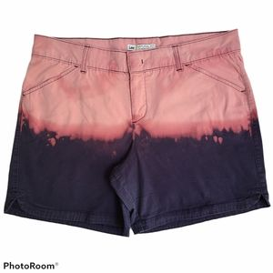 Lee Natural Fit Dip Dyed Shorts Size 12